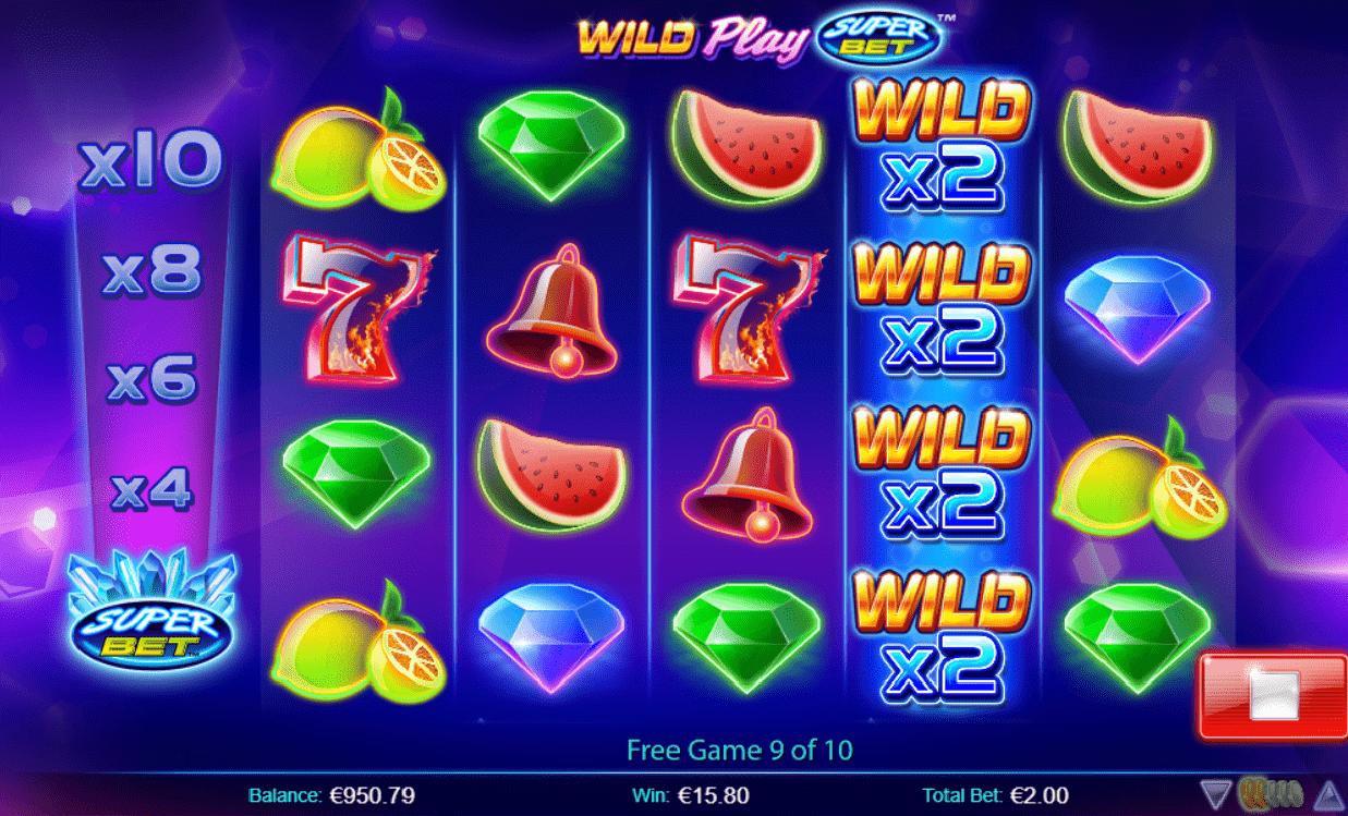 Wild Play SuperBet free spins bonus