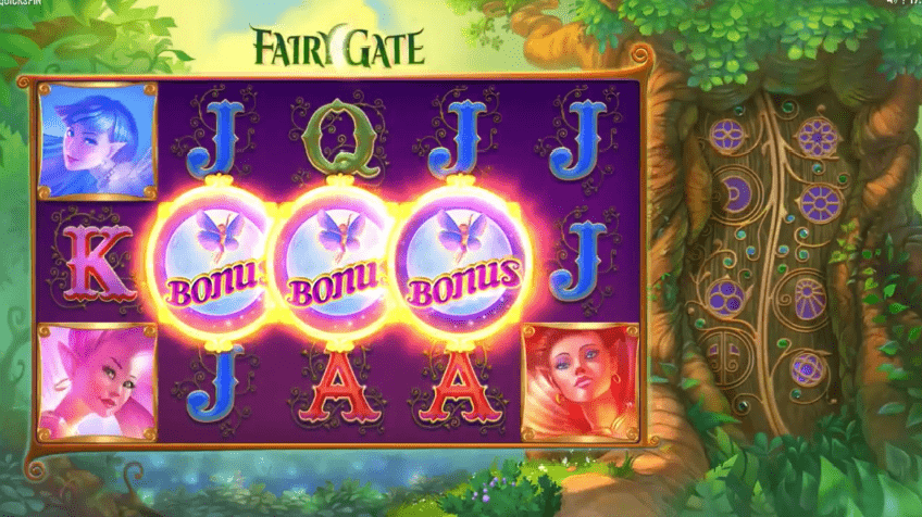 Fairy Gate slot symbols