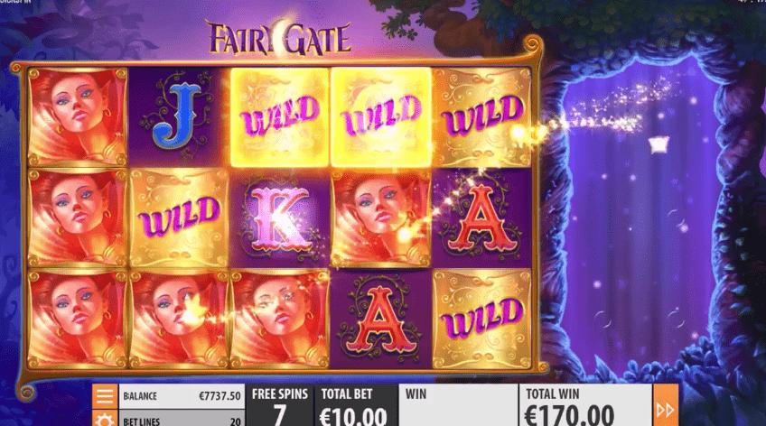 Fairy Gate slot free spins bonus