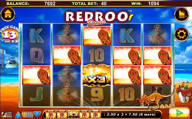 Radroo slot free spins bonus