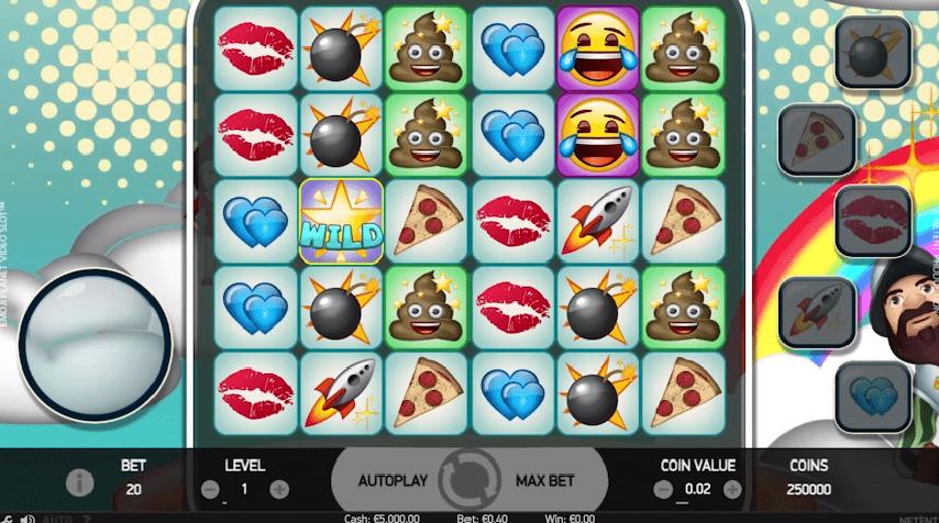 Emoji Planet video slot free to play