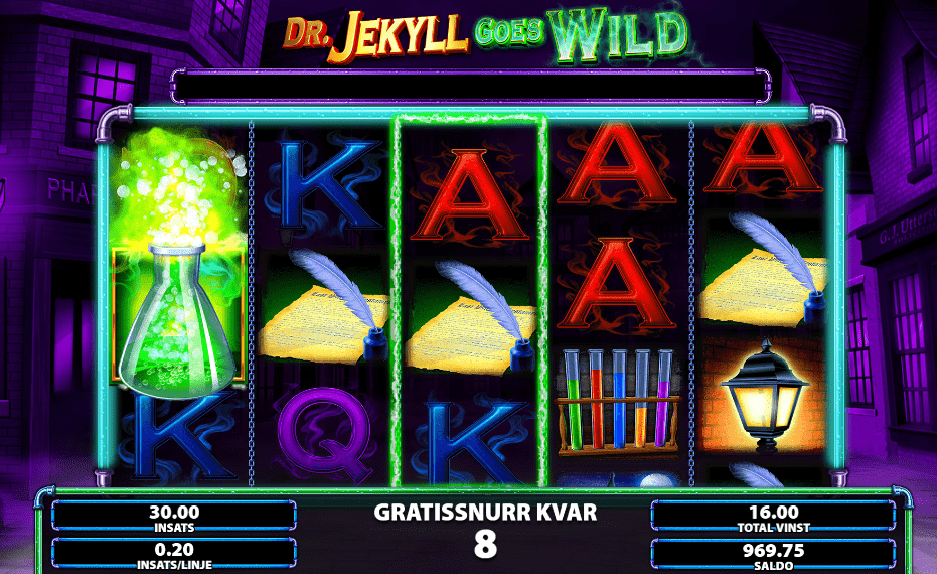 Dr Jekyll Goes Wild - Slot game Symbols