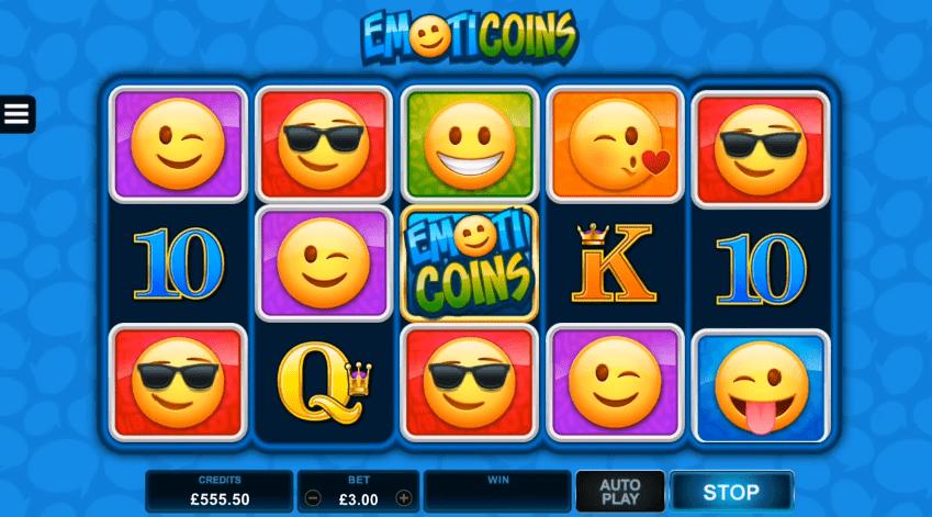 EmotiCoins video slot play