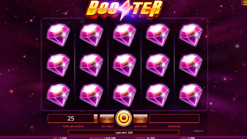 Booster video slot review