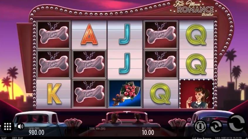 Full Moon Romance online slot machine