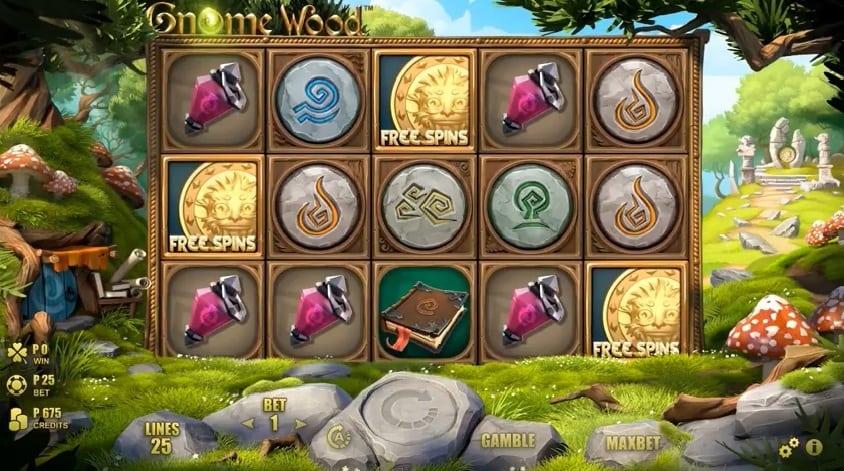 Gnome Wood slot symbols