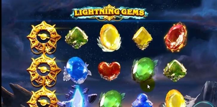 Lightning Gems online slot casino