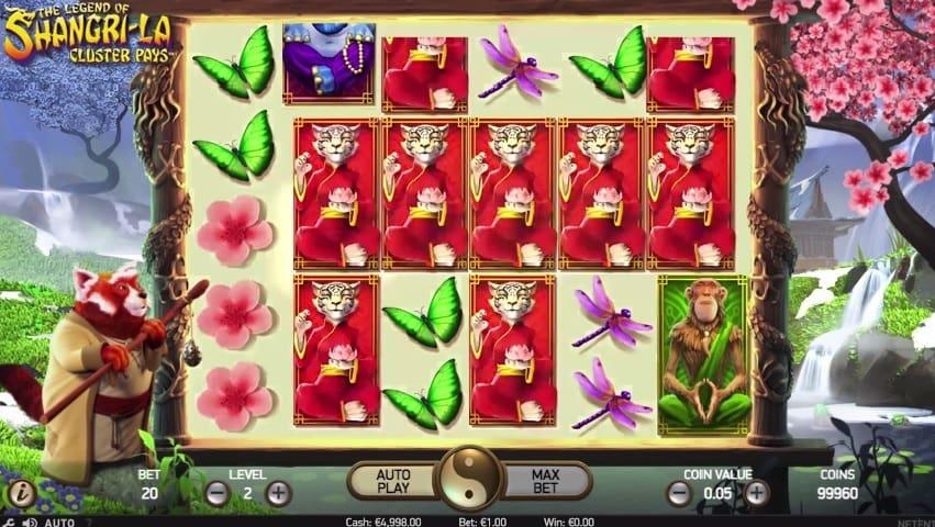 The Legend of Shangri-La online slot game