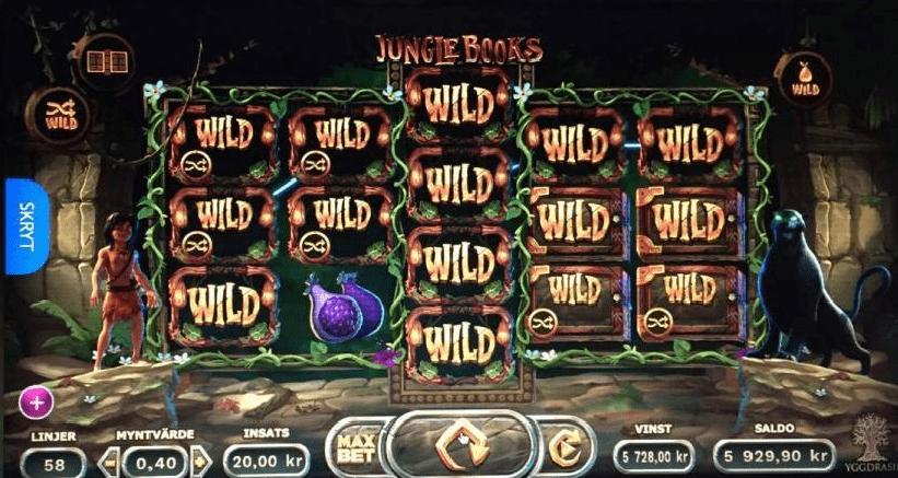 Jungle Books big win slot