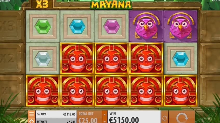 Mayana Slot respin feature