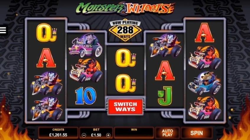 Monster Wheels online slot play free