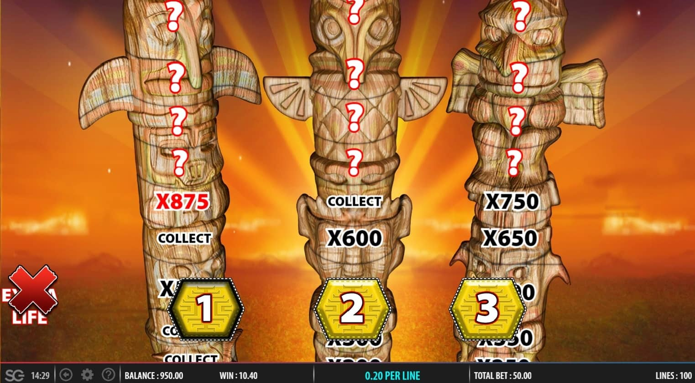Golden Chief bonus feature