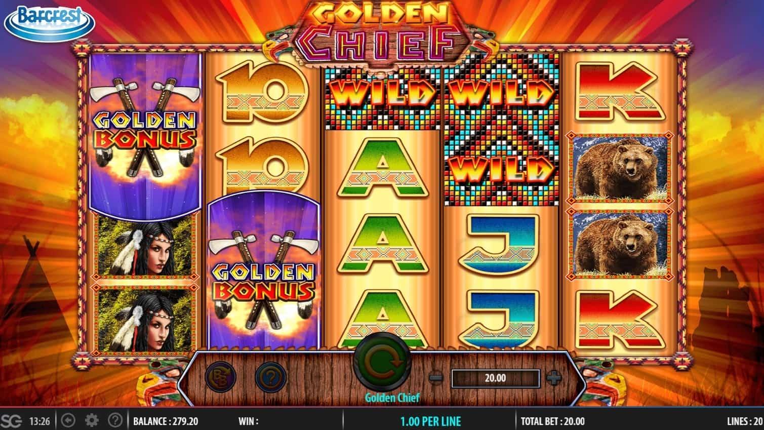 Golden Chief online casino Slot