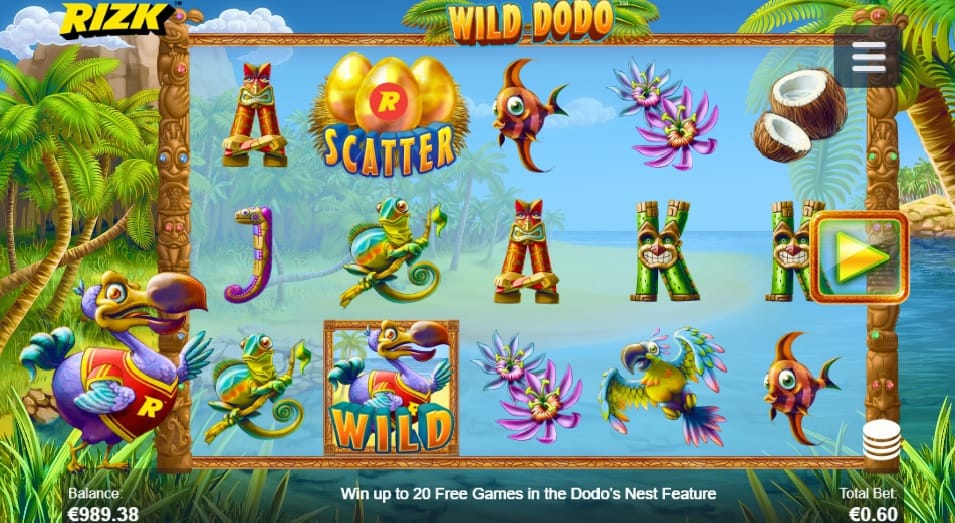 Wild Dodo slot online free