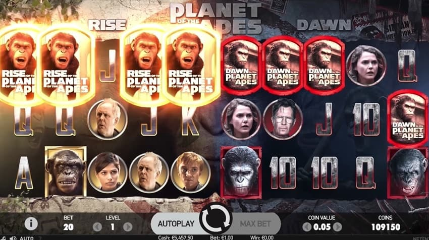 Planet of the Apes Slot slot online