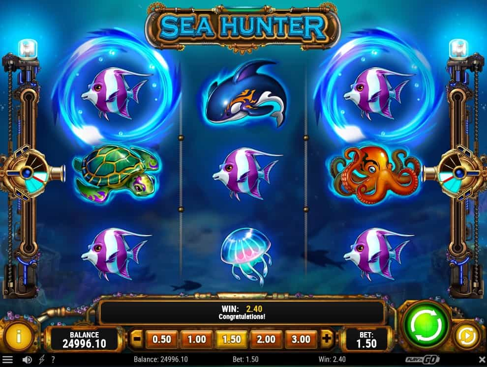Sea Hunter video slot game