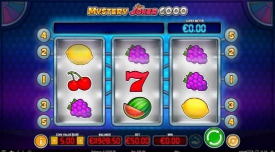 Mystery Joker 6000 fruit machine