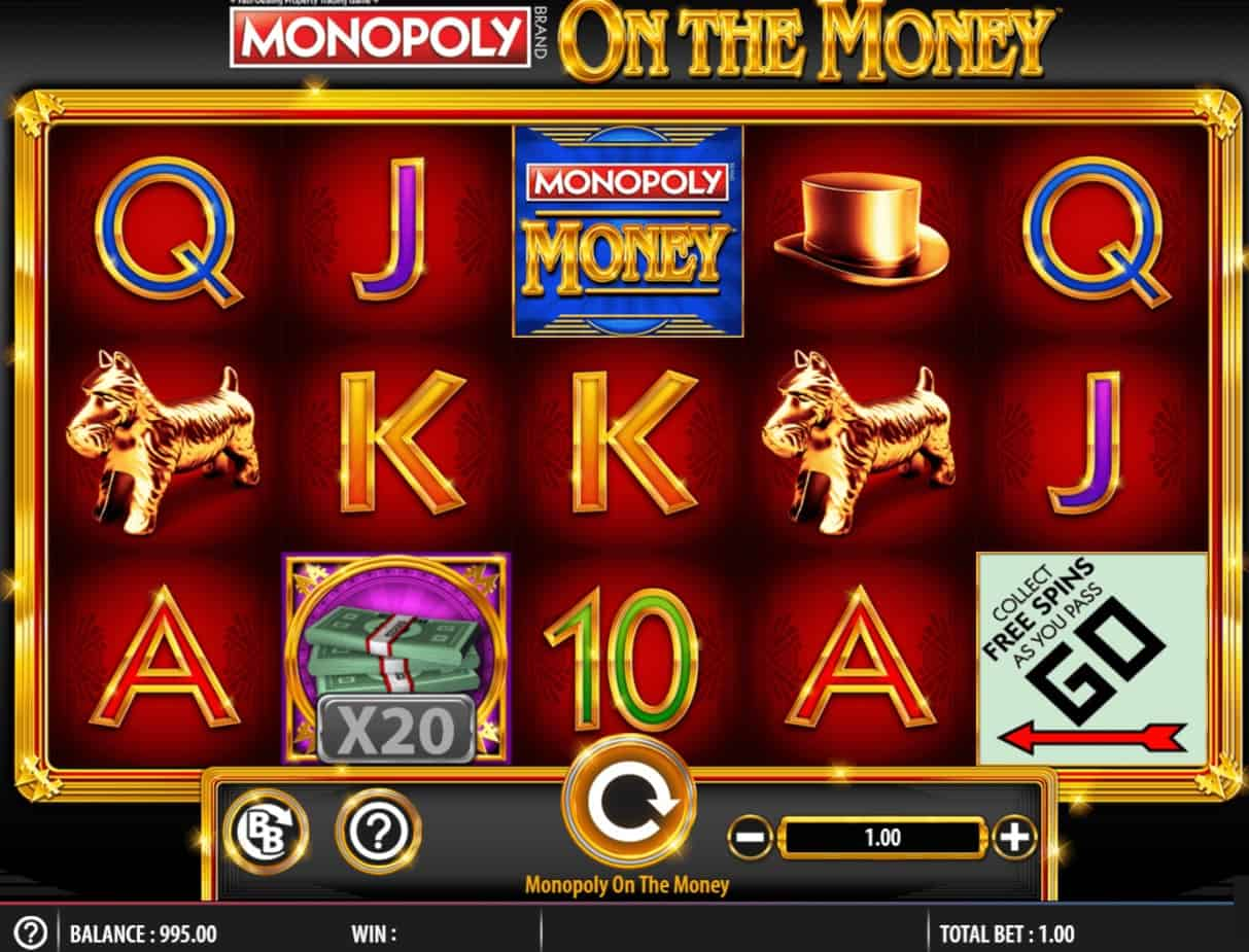 Monopoly On the Money big bet slot slot review