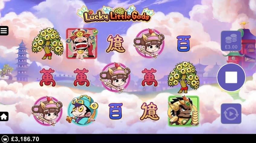 Lucky Little Gods video slot casino