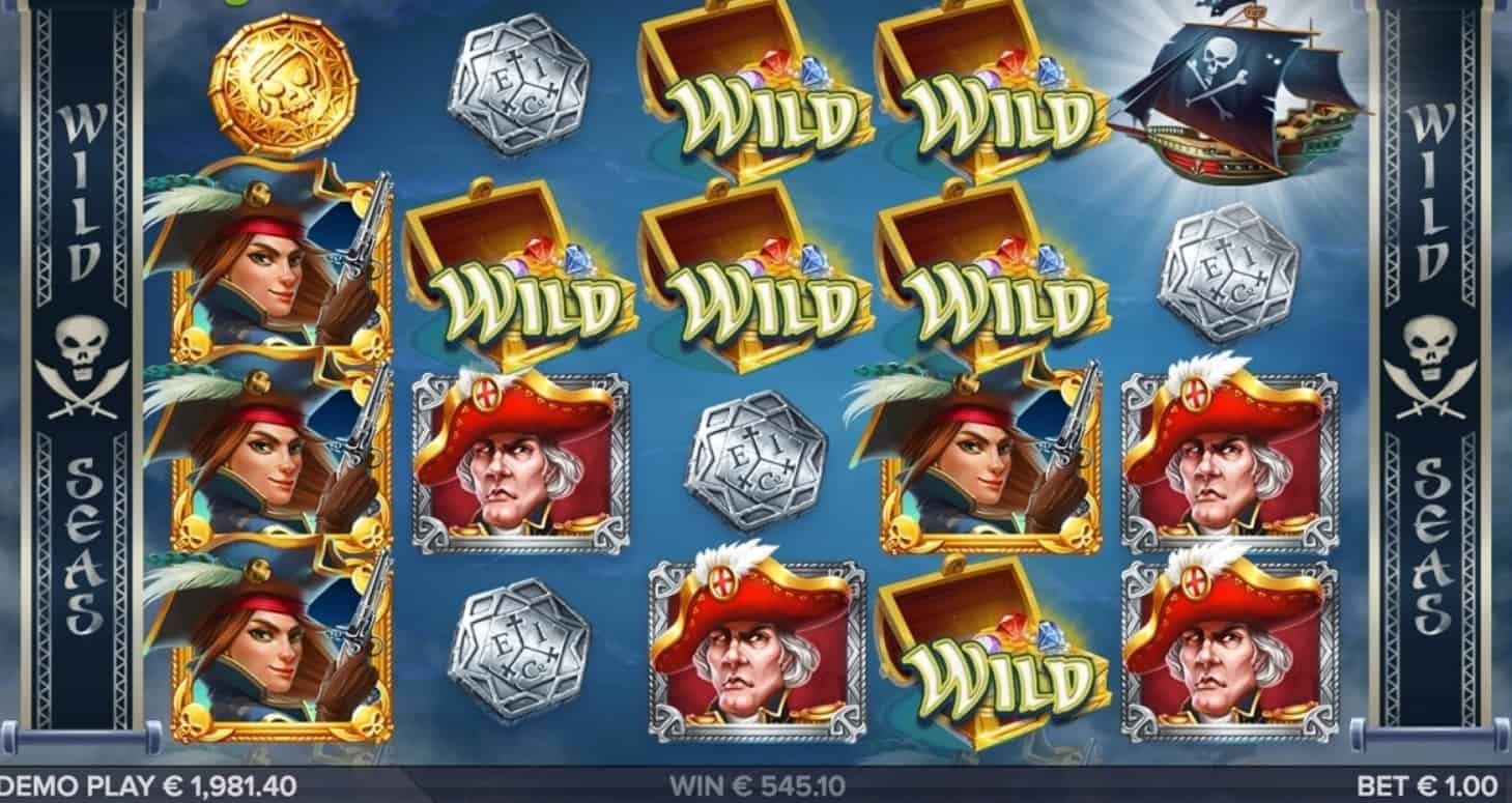Wild Seas slot bonus free spins