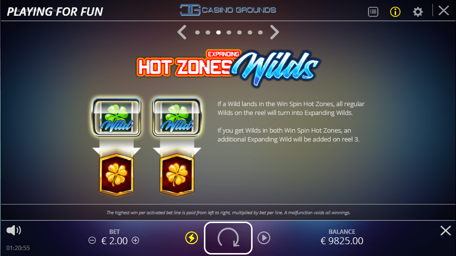 No Limit City - Casino Win Spin - Hot Zones Wilds - Casinogroundsdotcom