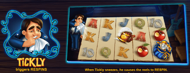 Tickly Snow wild and the seven features casinogroundsdotcom