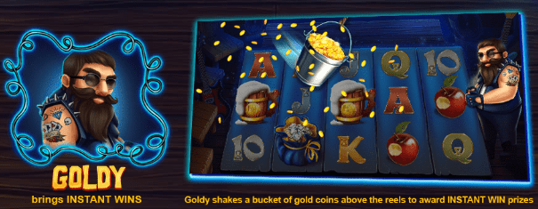 goldy Snow wild and the seven features casinogroundsdotcom