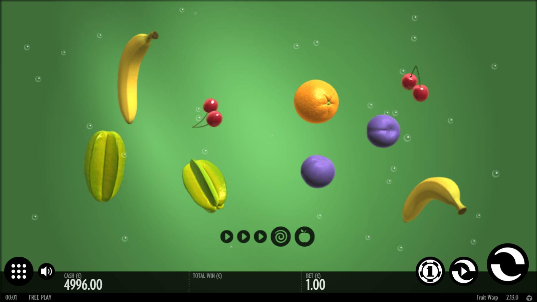 Thunderkick - Fruit Warp -Spin 2 - casinogroundsdotcom