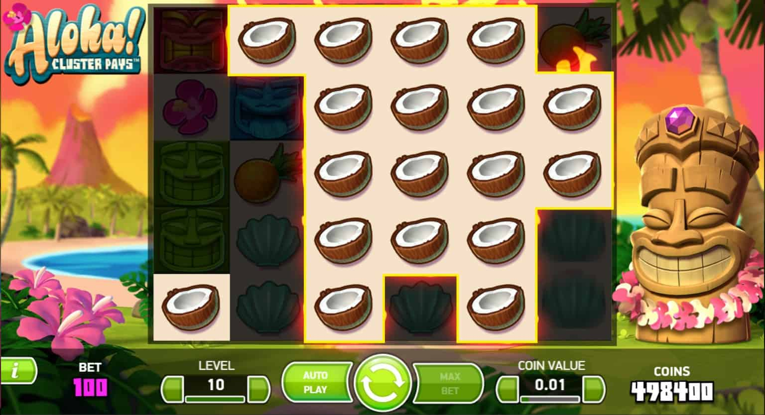 netent - aloha cluster pays - sticky win respin 2 - casinogroundsdotcom