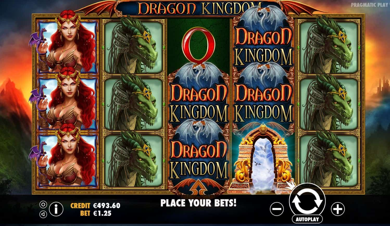 pragmatic play - dragon kingdom - reels - casinogroundsdotcom