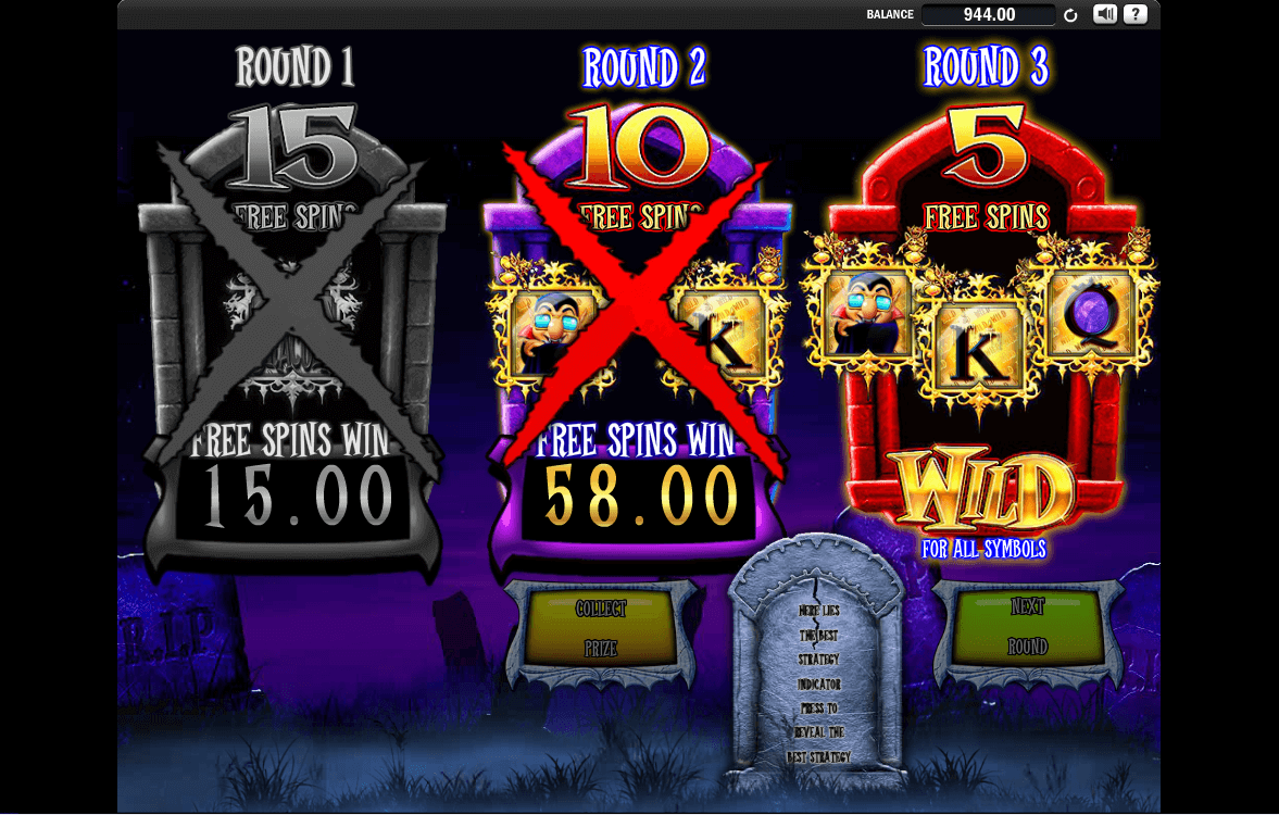 Barcrest - Ooh Aah Dracula - Free Spins last round- casinogroundsdotcom