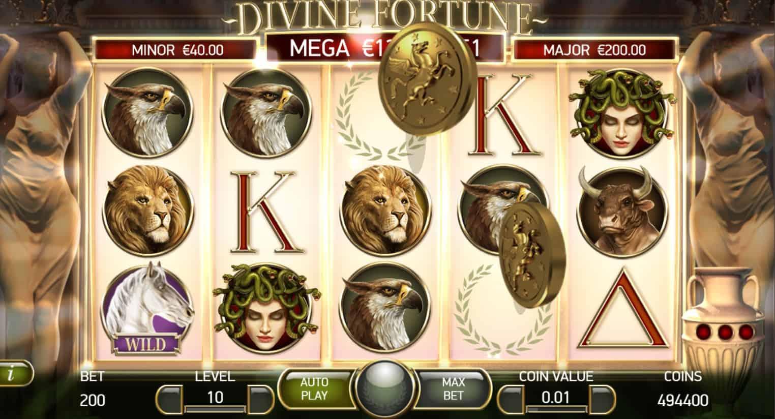 netent - divine fortune - jackpot - casinogroundsdotcom