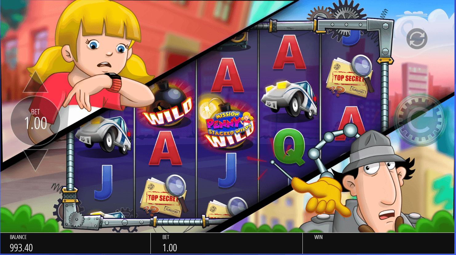 Blueprint - inspector gadget - go go gadget spin - casinogroundsdotcom