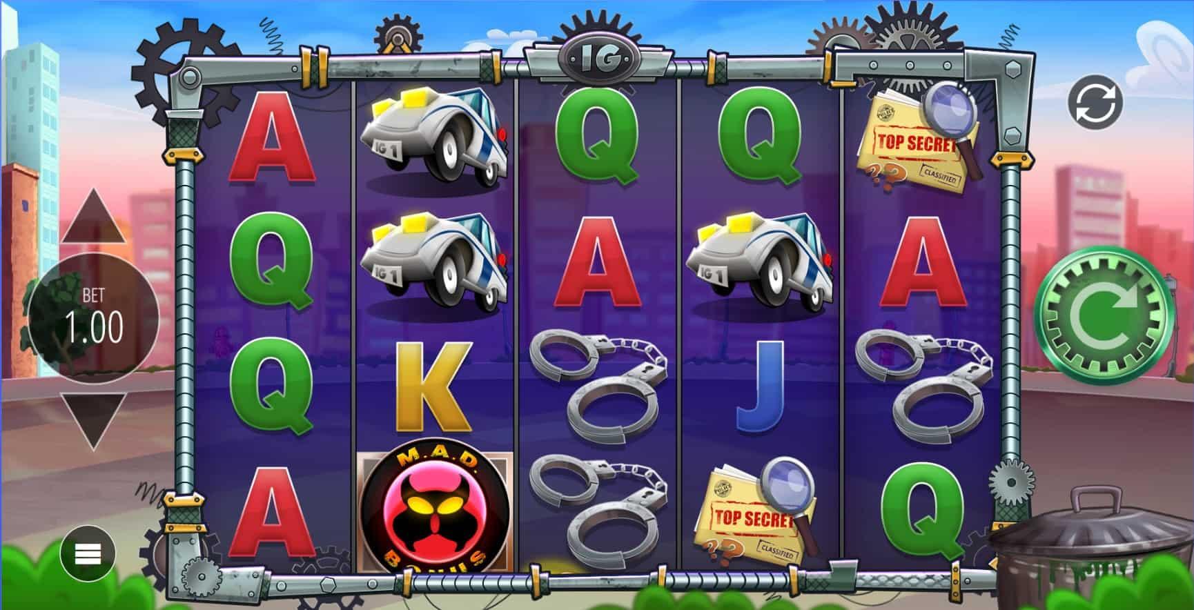 Blueprint - inspector gadget - reels- casinogroundsdotcom (3)