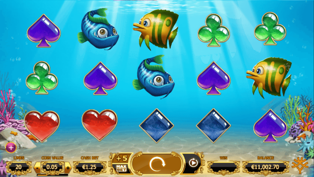 yggdrasil - golden fish tank - reels- casinogroundsdotcom