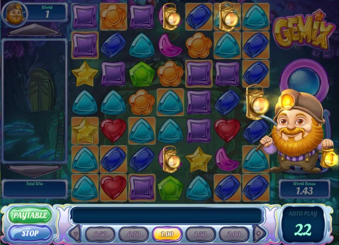 play'n go - gemix -wild - casinogroundsdotcom