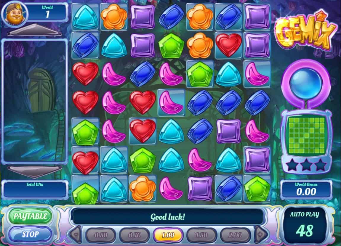 play'n go - gemix - reels - casinogroundsdotcom