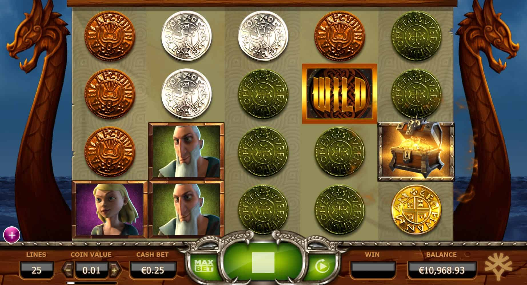 Yggdrasil - Vikings Go Wild - Treasure Chest - Casinogroundsdotcom