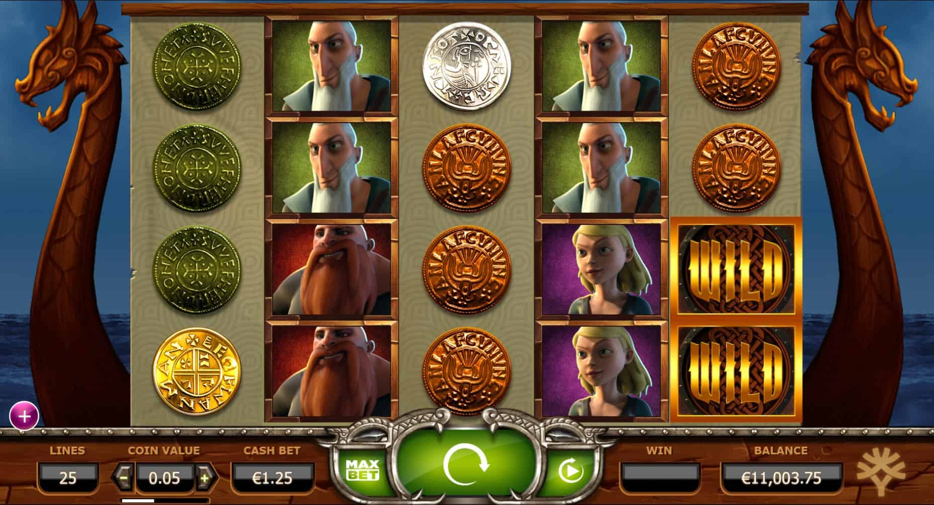 Yggdrasil - Vikings Go Wild - Reels - Casinogroundsdotcom