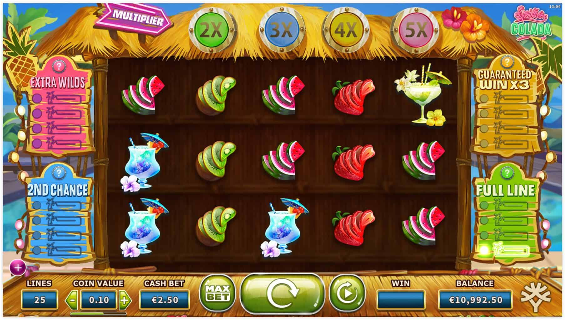 Yggdrasil - Spina Colada - Reels - casinogroundsdotcom