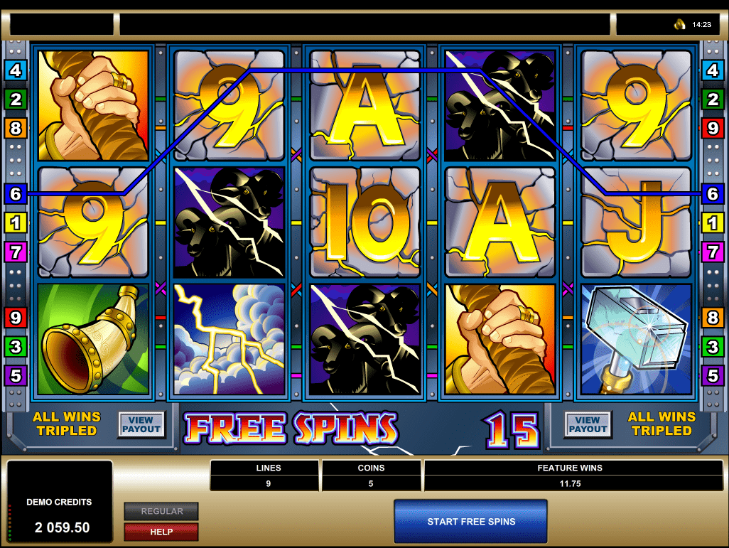 microgaming - thunderstruck - scatters - casinogroundsdotcom