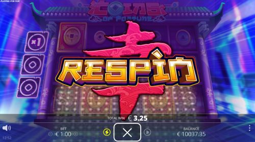nolimit city - coins of fortune - respin title - casinogroundsdotcom