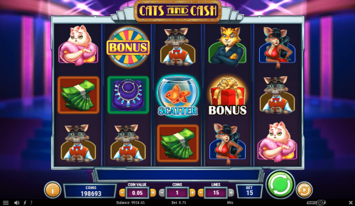 Play'N Go - Cats and Cash - Reels - casinogroundsdotcom