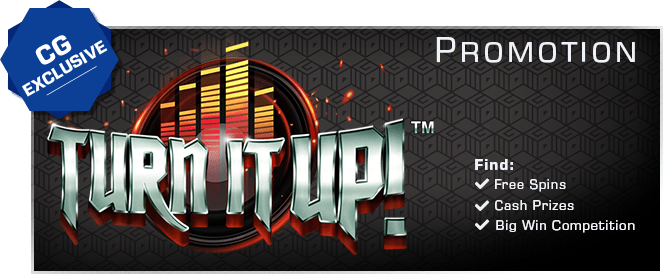Turn it UP! - Join the big win competition inside!