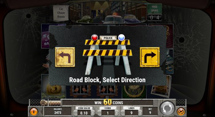 play'n go - cops n robbers - direction- casinogroundsdotcom
