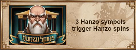 Yggdrasil - Hanzos Dojo - Symbol Hanzo Spins - Casinogroundsdotcom