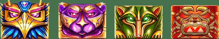 Red Tiger - Totem Lightning Power Reels - symbols - casinogroundsdotcom