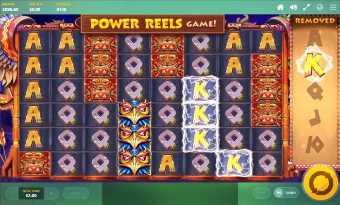 Red Tiger - Totem Lightning Power Reels - Lightning - casinogroundsdotcom