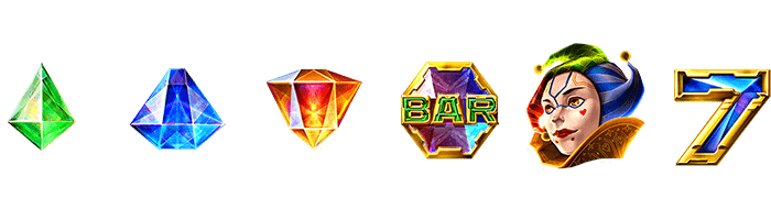 ELK - Joker Gems - Symbols - casinogroundsdotcom