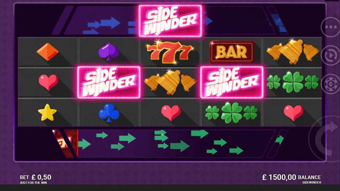 JFTW - Sidewinder - scatter - casinogroundsdotcom